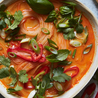 Curry Coconut Noodle Soup.