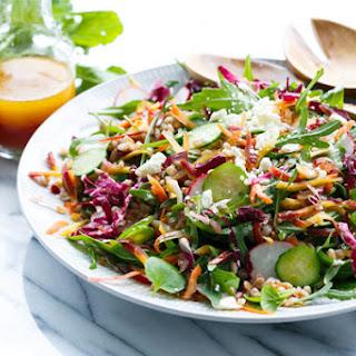 Rainbow Farro Salad.