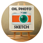 Oil Paint Sketch Effects Icon