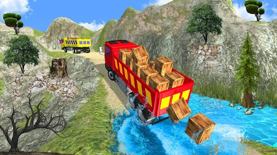 Truck Cargo Driving Hill Simulation : Truck Games 10