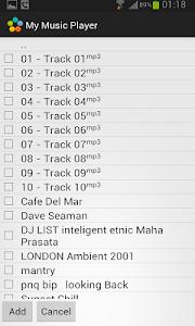 My music player screenshot 2