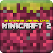 MiniCraft 2: 3D Adventure Crafting Games icon