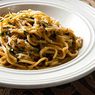 Arrowhead Pasta With Duck Sauce.