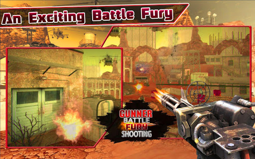 Gunner Battle Fury Shooter
