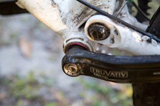 Photo: even the bottom bracket needed adjustment and welded caresses