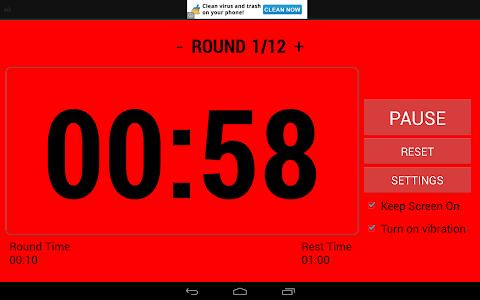 Boxing Interval Timer FREE screenshot 8
