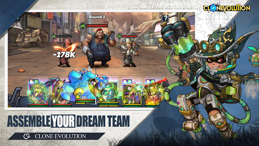 Clone Evolution: Cyber War-Borderlands Fantasy 1.4.9 screenshots 5