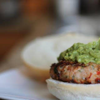 Chili Lime Chicken Burgers.