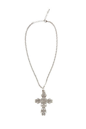 Halsband, gotiskt kors
