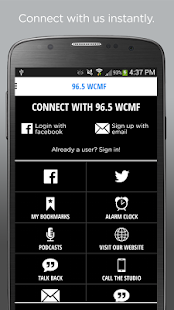 96.5 WCMF – Classic Rock- screenshot thumbnail