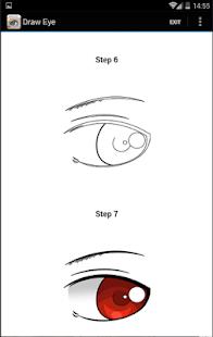 lerne die Augen leicht zu zeichnen - náhled