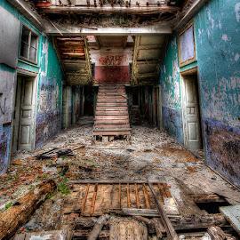 Broken Floor by Rico Besserdich - Buildings & Architecture Other Interior ( floor, house )