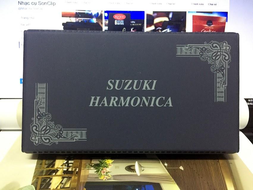 Kèn Harmonica - Suzuki Tremolo Special SU-21SM (key C, C#, Am)