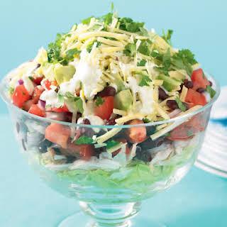 Mexican Layered Salad.