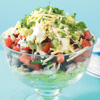 Mexican Layered Salad.