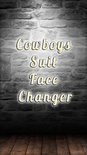 Cowboys Suit Face Changer - náhled