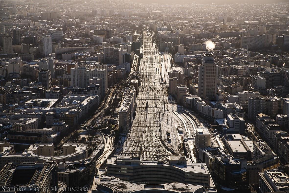 Вид с башни Монпарнас