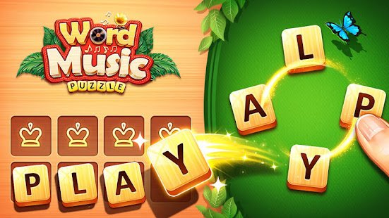 Word Puzzle Music Box: Scramble Words Games мод
