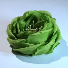 Photo: Роза из крепдешина