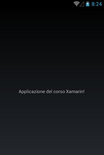 App Corso Xamarin