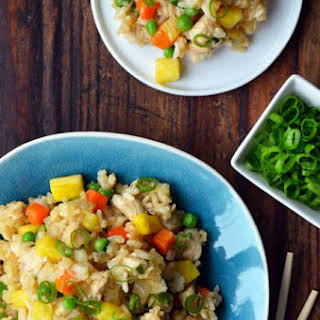 Pineapple Chicken Fried Rice.