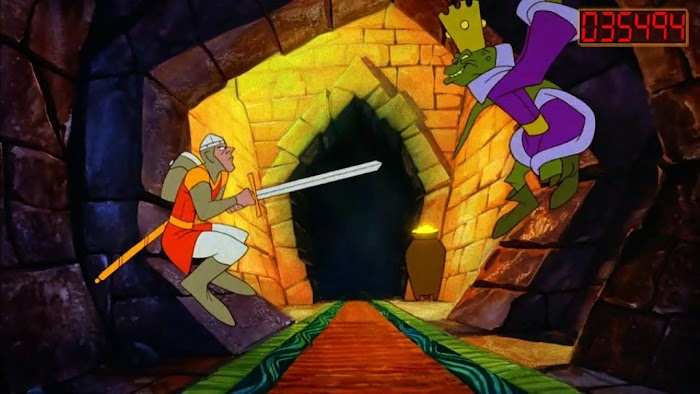 Dragon's Lair- screenshot