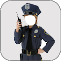 Kids Police Costume For Boy Photo Suit icon