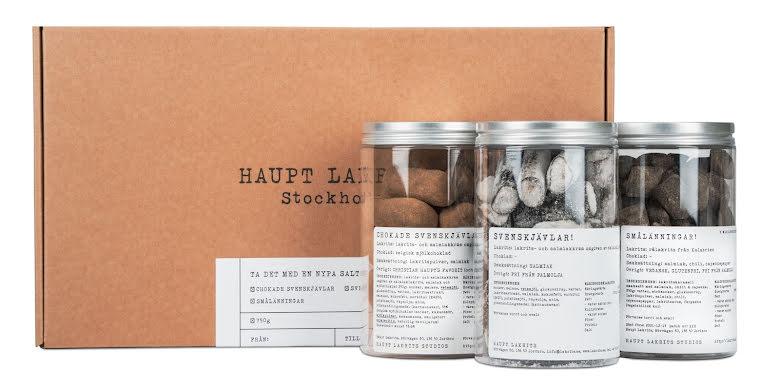 Presentlåda – ta med en nypa saltlakrits - Haupt Lakrits