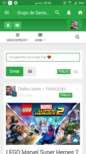 Grupo de Gamers 🇧🇷 screenshot 1