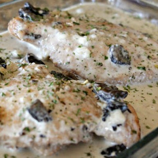 Slow Cooker Chicken Marsala.