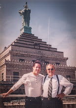 """Photo: Happy Birthday Dad This is one of my favorite photos ever. I didn't take it, but it's my Dad with Jim Kelly - arguably the greatest QB to ever play for the Buffalo Bills. It was taken on the roof of the Liberty Building in Buffalo, NY. At the peak of his career my father managed this building, the mall, and the Main Place Tower. Jim and my Father became friends when """"Networks"""" (a night club owned by Jim) opened. I was even lucky enough to go to the Jim Kelly Football Camp one year even though I was a soccer player. I got to catch a pass from Warren Moon there! Dad was very proud to call him a friend and was lucky enough to score Super Bowl tickets to one of the Bills famous 4 trips in a row!  Off the field Jim Kelly started a amazing local charity called Hunter's Hope in 1997 after his son was diagnosed with Krabbe Leukodystrophy, an inherited fatal nervous system disease. http://www.huntershope.org/"""