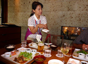 Photo: Best guide (Hiro at lunch in Kamakura)