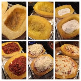 Lasagna Spaghetti Squash