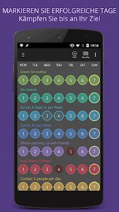 Gewohnheit Tracker Screenshot