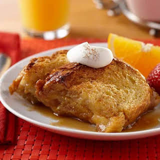 Upside-Down French Toast.