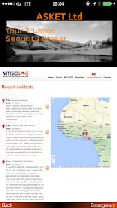 ASKET Maritime Security App screenshot 23