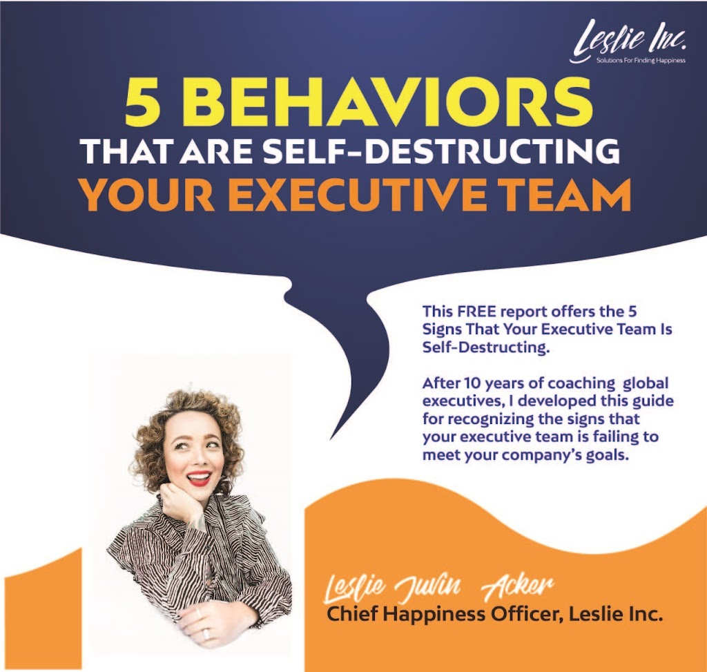 5 Behaviors That Are Self-Destructing Your Executive Team