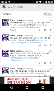 Idaho lottery numbers fromKTVB- screenshot thumbnail