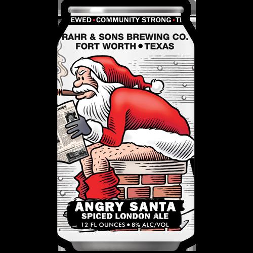 Logo of Rahr & Sons Angry Santa