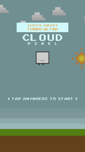 Super Angry Cloud Pixel