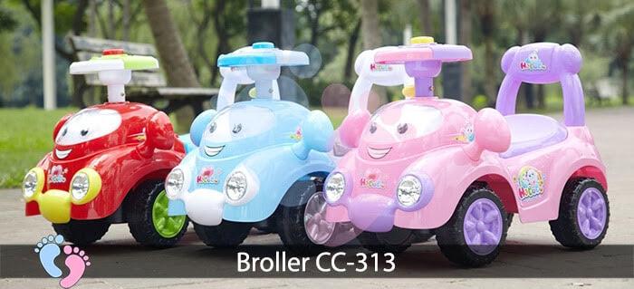 Xe chòi chân oto Broller CC 313 4