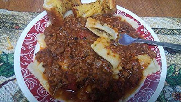 Beef Ravioli With Arrabbiata Sauce Recipe