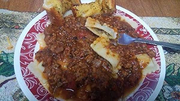 Beef Ravioli With Arrabbiata Sauce