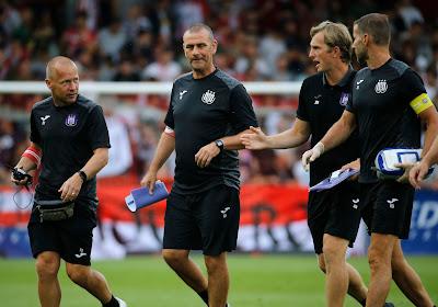 La victoire attendra, mais le discours ne change pas à Anderlecht