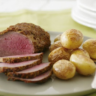 Roast Beef in Mustard Marinade