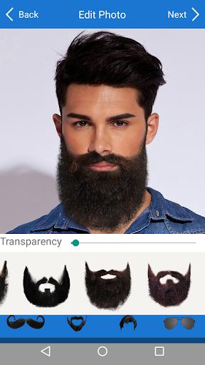 Men Mustache Beard Haircuts  screenshots 5