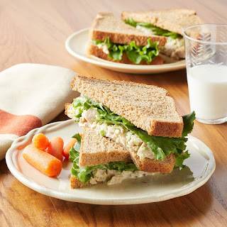 Tuna Salad Sandwich With Sweet Relish.