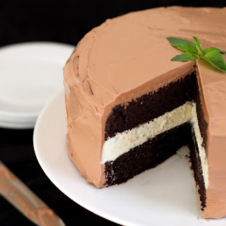 CHOCOLATE BASIL CAKE Recipe