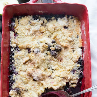 Blueberry Apple Crisp.