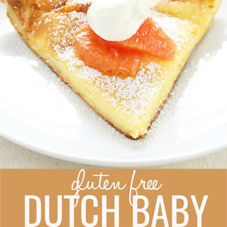 Gluten Free Dutch Baby Recipe